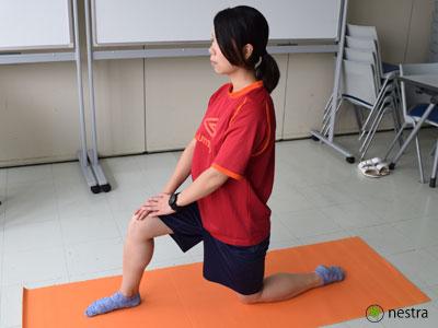 腸腰筋ストレッチ2